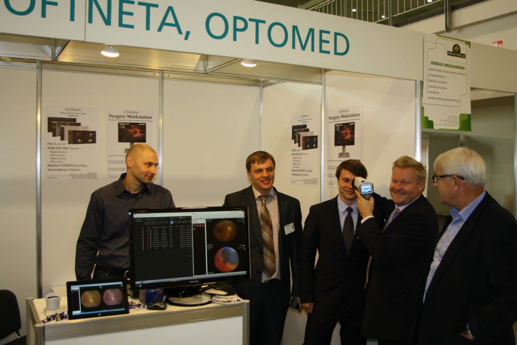Softneta medical imaging ophthalmology
